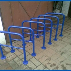 Велопарковка Оградка на 2 велосипеда