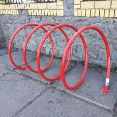 Велопарковка Пружина 4 велосипеда