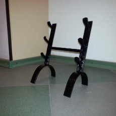 Подставки под коллекционные ножи,сабли,оружие 3 еденицы на стол
