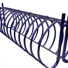Велопарковка Классик на 26 велосипедов синий