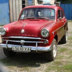 Москвич 407 реставрация