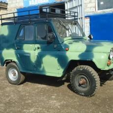 УАЗ 469 реставрация