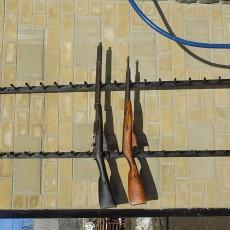 Подставка для для коллекционных ружей