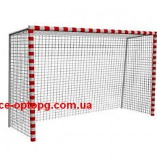 Ворота футбольные для двора  ВФ-009 мини без сетки