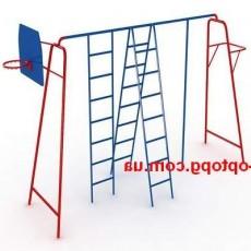 Комплекс спортивный для двора и школьной площадки КС-022
